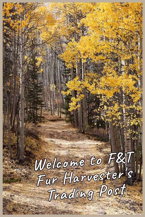 Welcome to F&T Fur Harvester's Trading Post